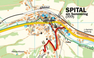 spital térkép